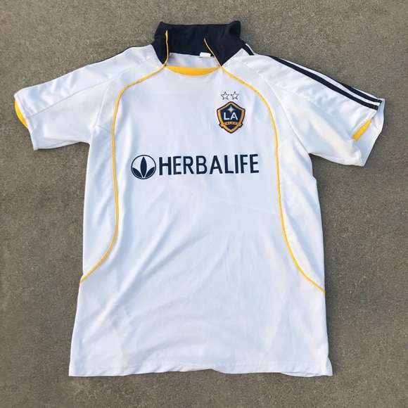 brand new 9f16a e0457 LA Galaxy 08/09 Home Jersey